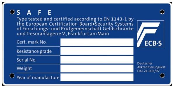 certificate-plate